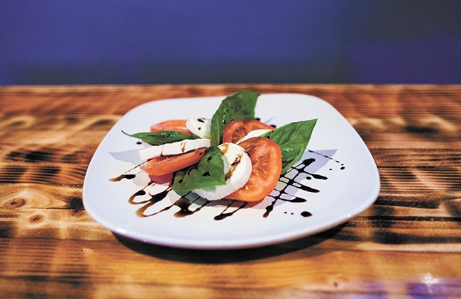 A caprese salad from Prohibition Gastropub. - KRISTEN BLACK