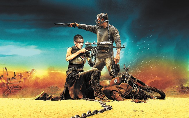 Mad Max: Fury Road was the best movie of the year.