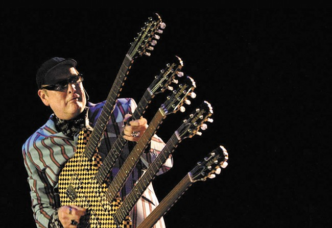 Cheap Trick and guitarist Rick Nielsen played the Spokane County Fair shortly before being named to the Rock and Roll Hall of Fame.