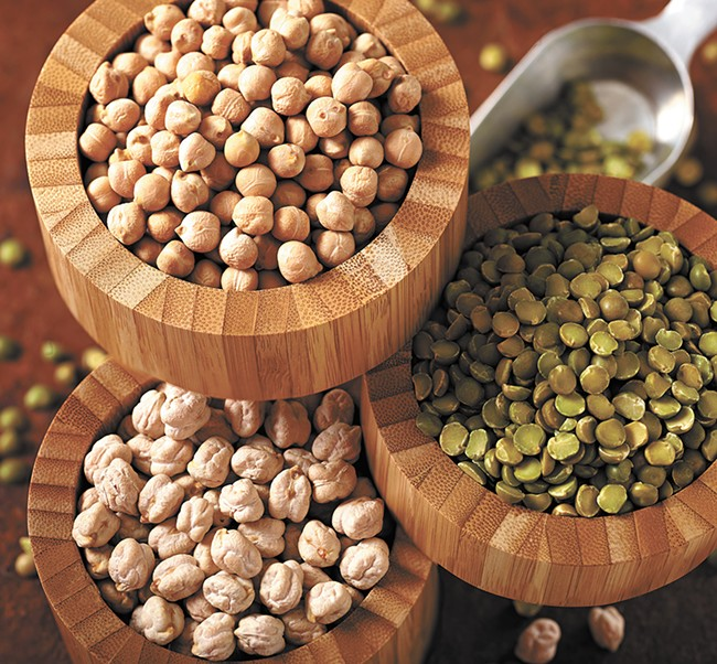 1.5 million acres of pulse crops — peas, lentils and chickpeas — are grown in the United States each year. - COURTESY OF PNW CO-OP SPECIALTY FOODS