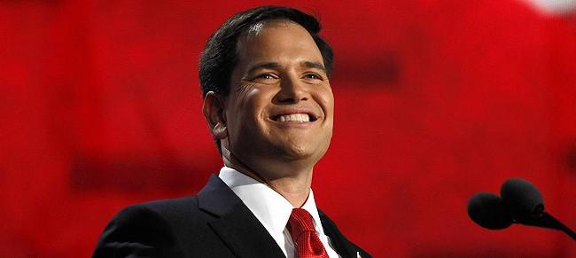 Sen. Marco Rubio got a big endorsement in Iowa, but is still behind Trump and Cruz.