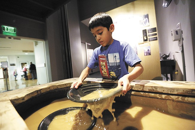 Treasure! features interactive, hands-on exhibits. - YOUNG KWAK