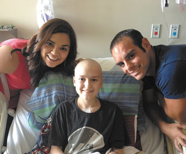 Wishing Star recipient Ryan's wish to go to BlizzCon was the one thing he held onto when he felt like giving up during cancer treatment.