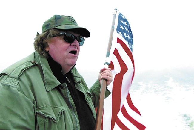 Michael Moore: A different kind of American hero.