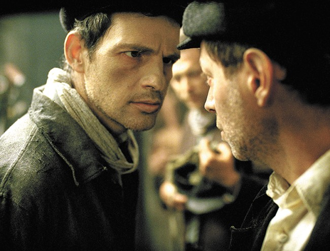 Son of Saul is nominated for a Best Foreign Language Film Oscar.