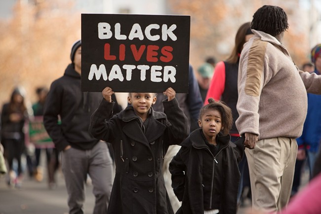 "A column Jim McDevitt wrote about the ""Black Lives Matter"" movement and crime has Spokane efforts to hire a new police chief in turmoil. - YOUNG KWAK"