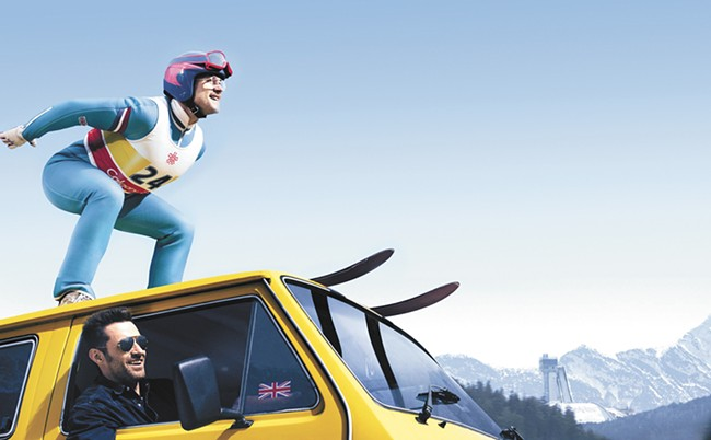 Eddie the Eagle doesn't soar beyond genre cliches.