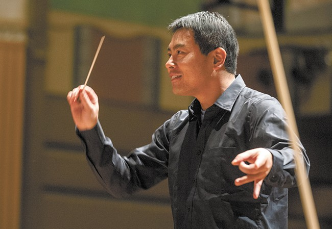 Spokane Symphony's Morihiko Nakahara appreciates the complexities of John Williams' Star Wars scores.