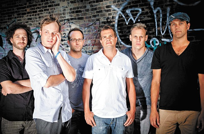 About a third to half of Umphrey's McGee shows are improvised.