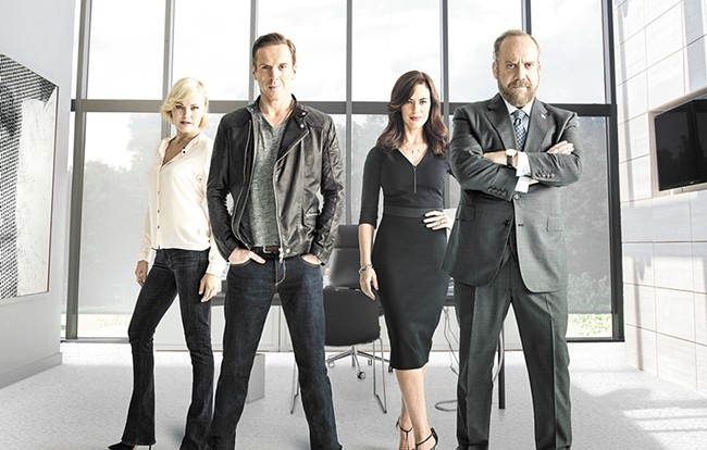 Showtime's Billions gives us a gross but engaging look at Wall Street.