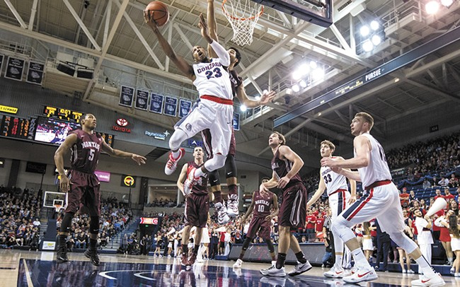 Gonzaga is Eric McClellan's third stop in his previously troubled college career. He came up big in the WCC tournament to lead the Zags to their 18th-straight NCAA Tournament appearance. - RYAN SULLIVAN