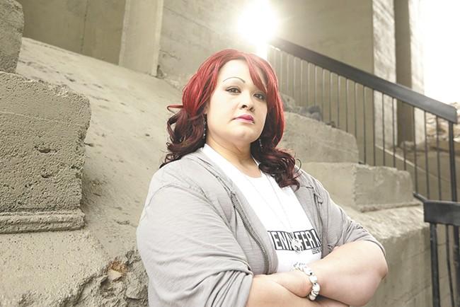 Jennifer Kemple often goes to the Monroe Street Bridge to write lyrics. - YOUNG KWAK