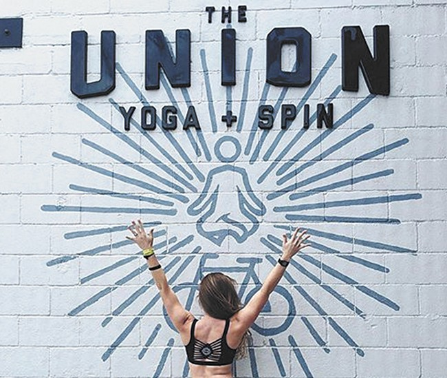 Fun meets yoga at the Union.