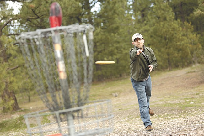 Downriver is one of three public disc golf courses in Spokane. - YOUNG KWAK