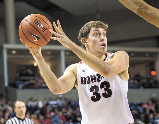 Kyle Wiltjer's shooting is key to the Bulldogs' success. - RYAN SULLIVAN