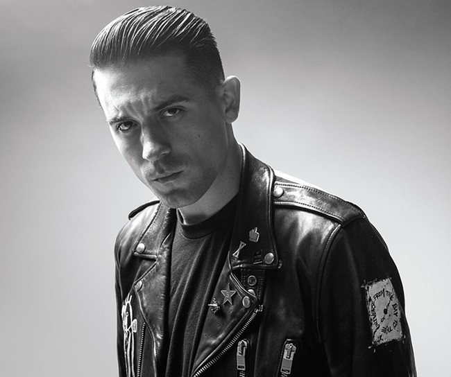 Rapper G-Eazy isn't afraid to get serious.
