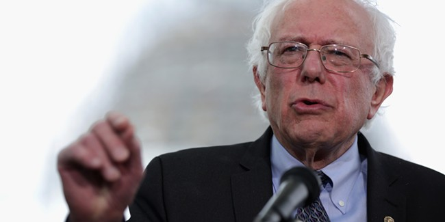 Bernie had a big week in Washington, and among his winged friends.