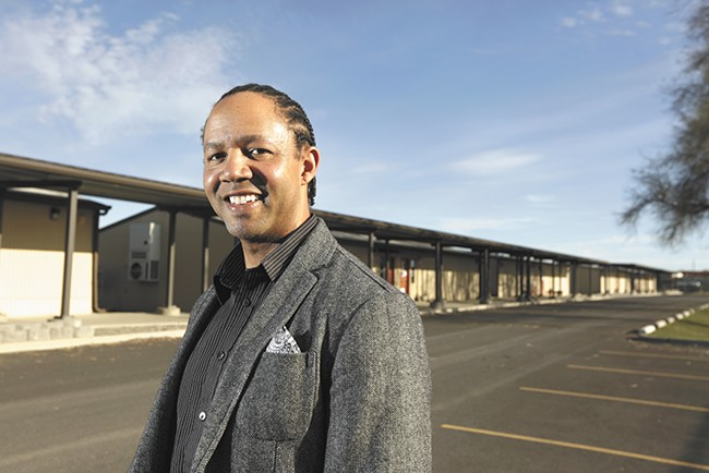 Andre Wicks, a former Shaw Middle School assistant principal, hopes to improve graduation rates in Hillyard by addressing multigenerational poverty. - YOUNG KWAK