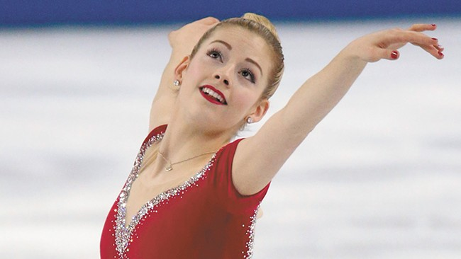 Two-time U.S. national champion Gracie Gold is a standout on the talent-laden Team North America.