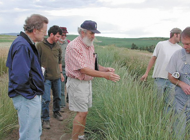 The late Dave Skinner helped Jensen with a field guide to the Palouse. - JACIE JENSON PHOTO