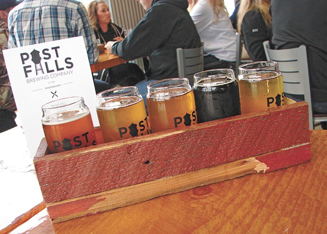 Post Falls Brewing joins a thriving North Idaho beer scene. - CARRIE SCOZZARO