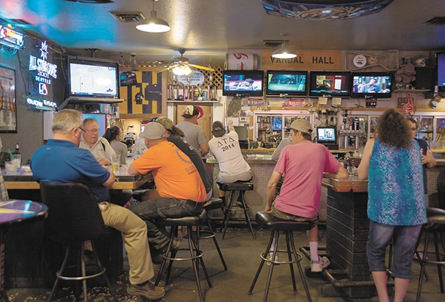 The Corner Club is beloved by longtime regulars and U of I students alike. - TARYN PHANEUF
