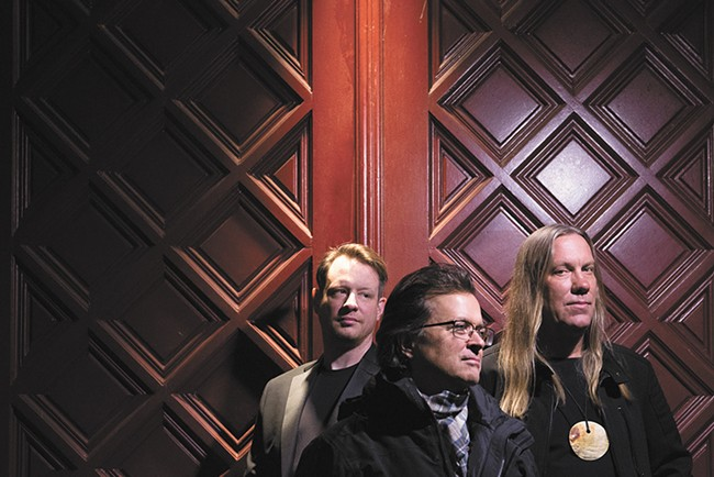The Violent Femmes are, from left, John Sparrow, Gordon Gano and Brian Ritchie. - EBRU YILDIZ PHOTO