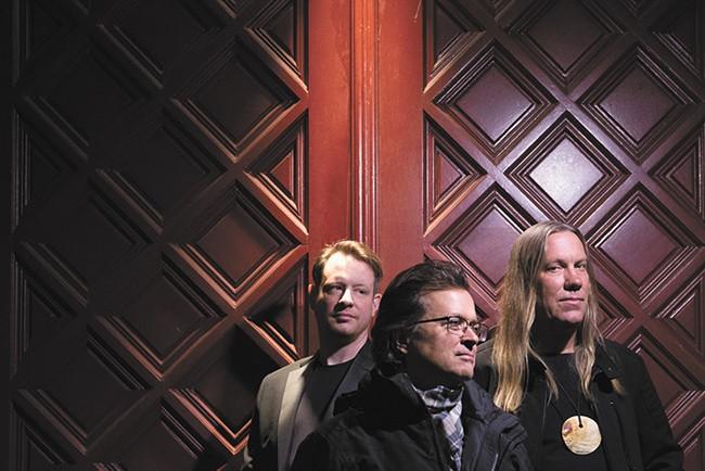 The Violent Femmes are, from left, John Sparrow, Gordon Gano and Brian Ritchie. - EBRU YILDIZ PHOTO