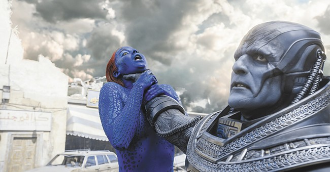 Another X-men, another battle royale among this summer's comic-book flicks.