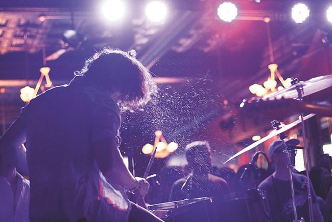 The Volume music festival kicks off June 3.