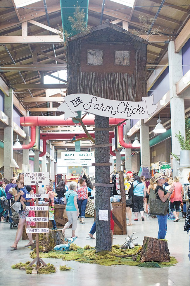 More than 20,000 people are expected to attend this year's Farm Chicks Show. - PHOTO COURTESY OF SERENA THOMPSON