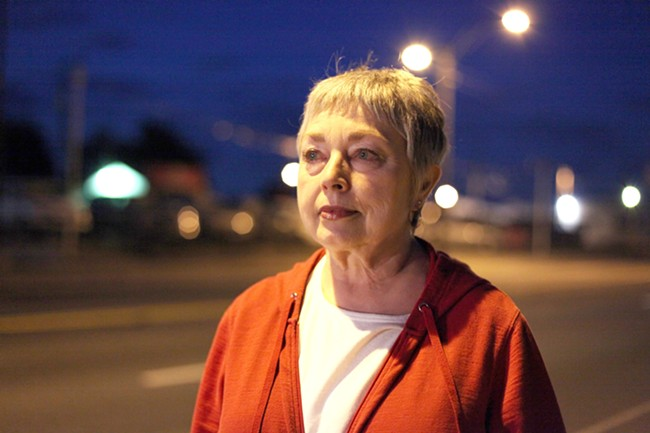 Lynn Everson, coordinator for Spokane's needle exchange, has spent many nights on the streets of Spokane. - YOUNG KWAK