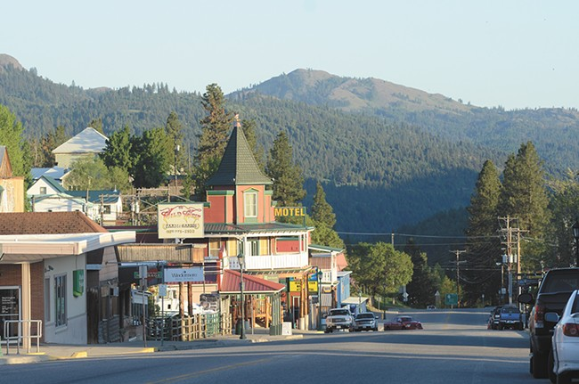Republic's main street has a Western town motif in line with its Wild West and mining roots. - MIKE SALSBURY
