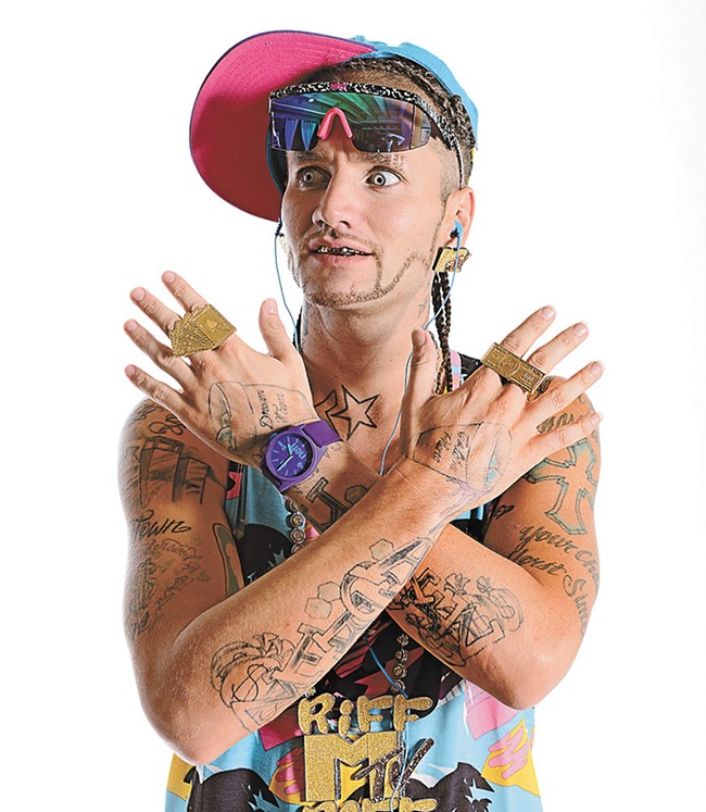 Rapper Riff Raff sued actor James Franco for essentially impersonating him in the film Spring Breakers.