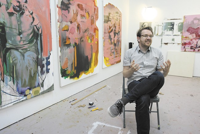 The work of Polish painter Bartosz Beda is coming to the Marmot Art Space.