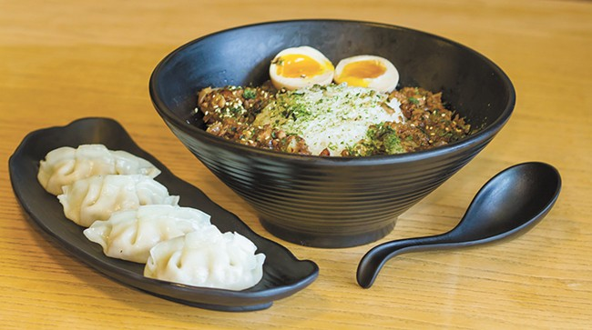 King of Ramen's flavors are big and bold. - JEFF FERGUSON