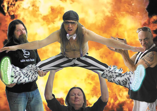 Local Van Halen tribute band Vain Halen is poised to help you dance the night away on Friday.