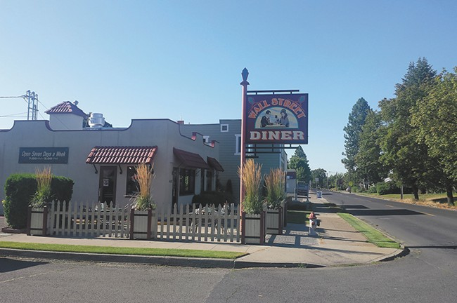 The Wall Street Diner is central hub of the neighborhood.