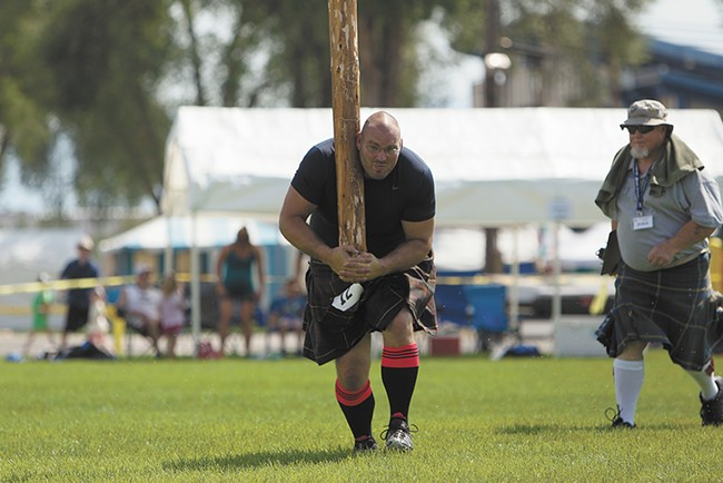 The caber toss was developed as a military training technique in Scotland. - YOUNG KWAK