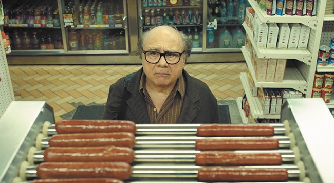 Danny DeVito contemplates his floundering screenwriting career, and a bite.