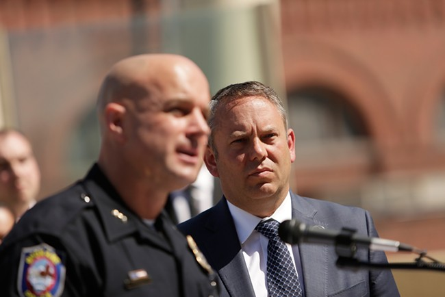 Mayor David Condon promoted Craig Meidl to chief from within the Spokane Police Department in the wake of the Frank Straub scandal. - YOUNG KWAK