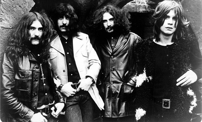 Black Sabbath's early works are touchstones of stoner-rock.