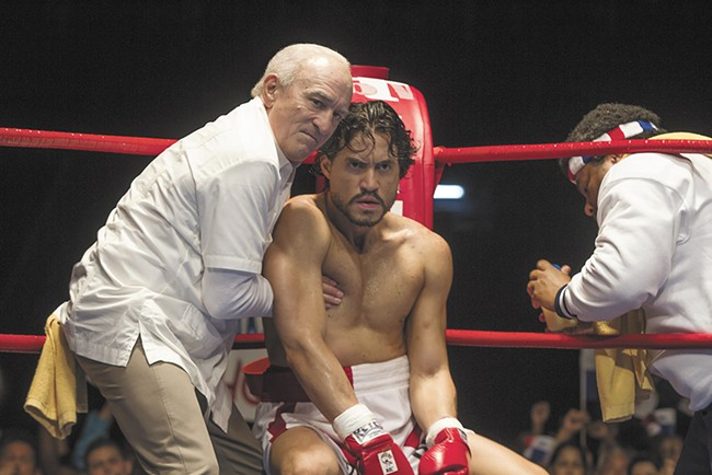 DeNiro gets back in the ring 36 years after Raging Bull.