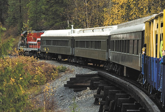 Lion's Club train rides, left, are ending this fall. - PAULA SIOK