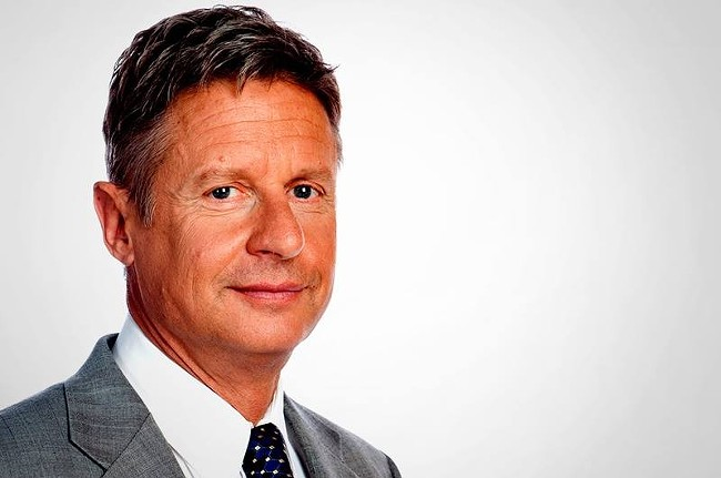 Libertarian candidate Gary Johnson is the most weed-friendly of the presidential hopefuls.