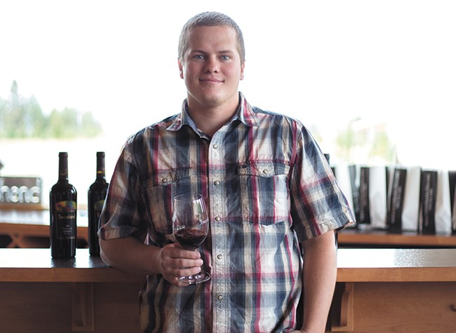 Michael Townshend has joined the family wine buisness that was founded by his father, Don. - TESS FARNSWORTH