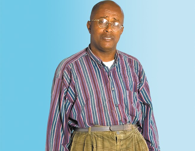 What we know: multi-talented artist David Liebe Hart has awesome dad style.