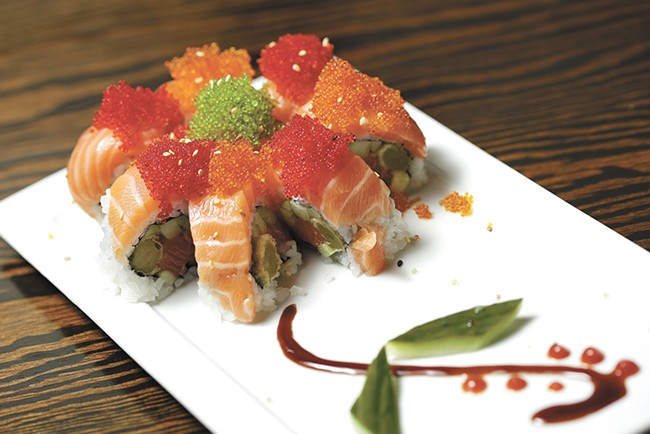 The Pretty Woman roll from QQ Sushi. - YOUNG KWAK