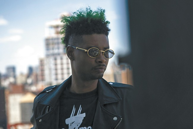 Danny Brown argues he's the greatest alive. Decide for yourself this Friday at the Knitting Factory.