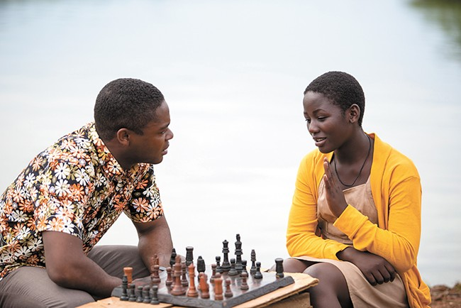 Chess makes an impact in Queen of Katwe.
